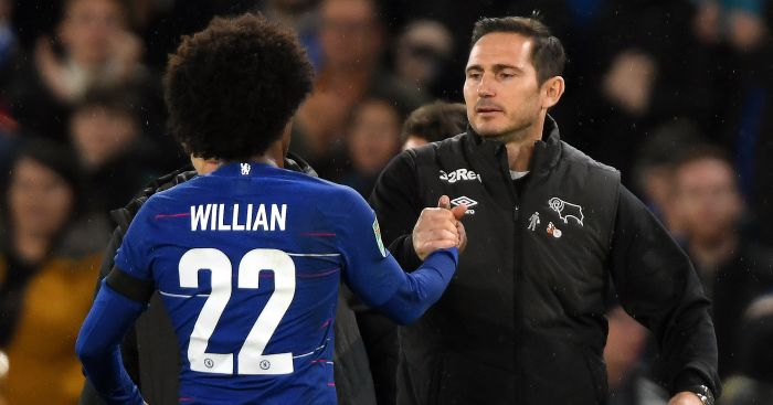 Frank Lampard in talks with Chelsea somtosports