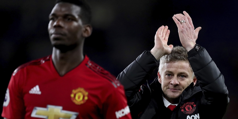 Solskjaer dismisses Pogba exit news as he joins Raiola to defend the Frenchman 1