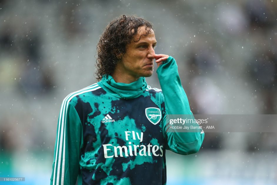 David Luiz sets to captain Arsenal as former Gunners defender advices Emery.