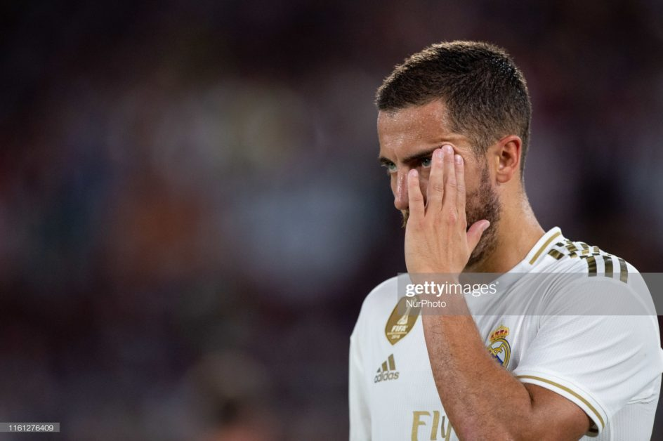 Eden Hazard out for three to four weeks on thigh injury.