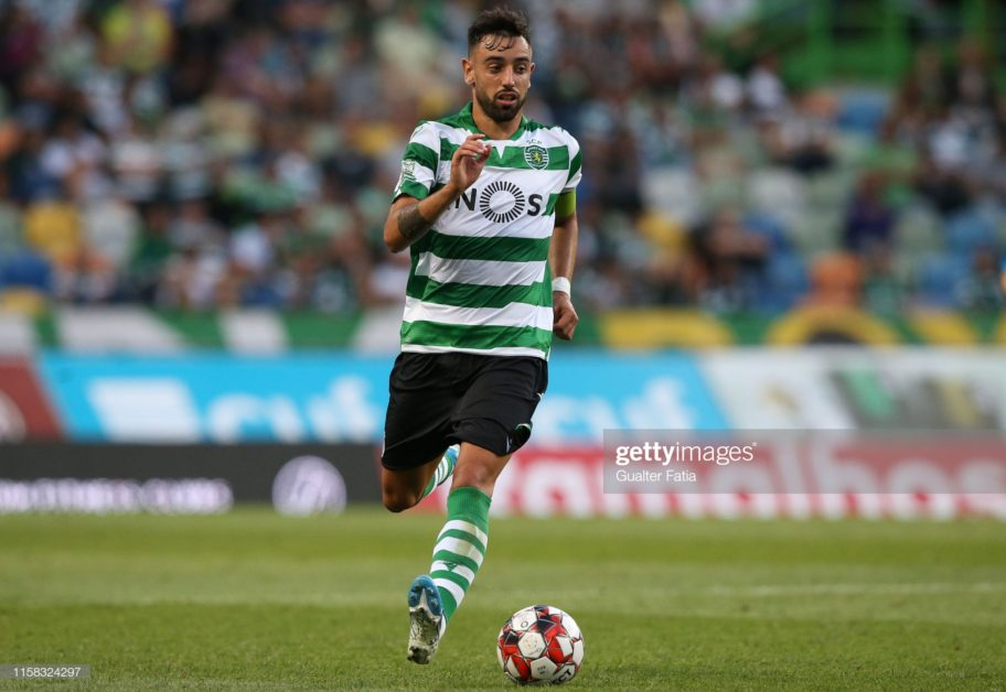 Real Madrid join United and Spurs in Bruno Fernandes chase