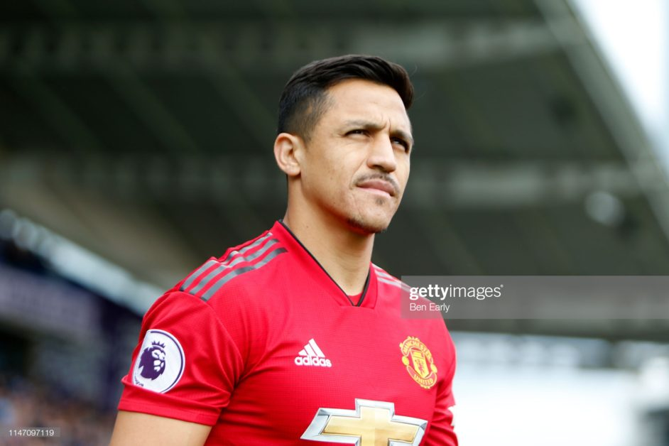Man United outcast striker, Alexis Sanchez is expected to leave Old Trafford very soon amid Serie A links.