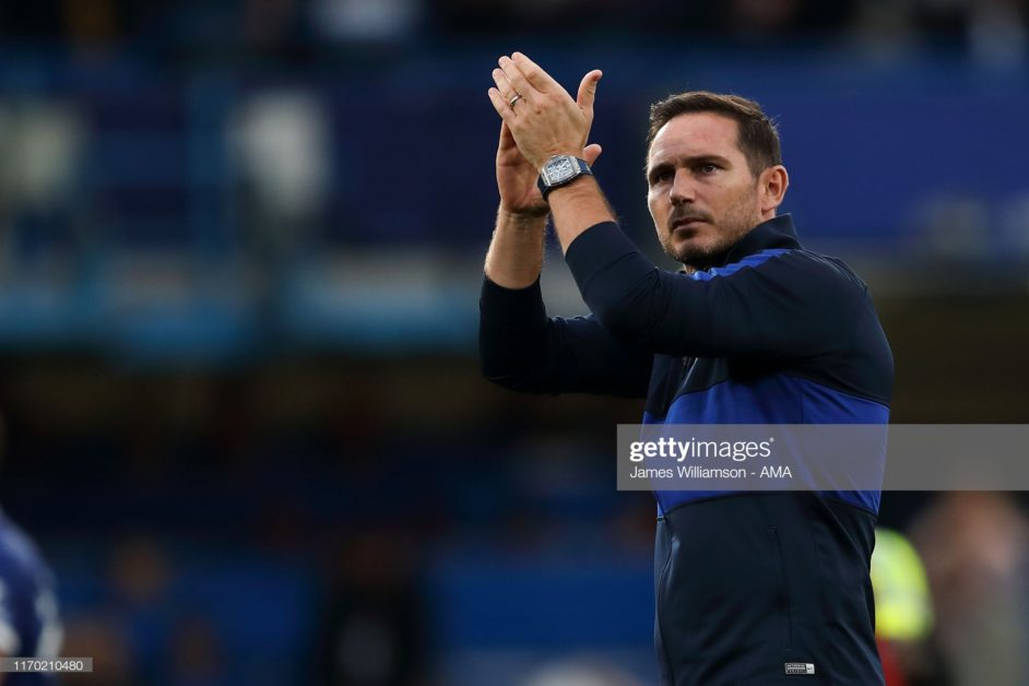 We were the better side Lampard