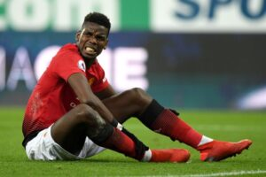 Pogba's Ankle Cast Has Been Removed As He Sets To Return Into Action