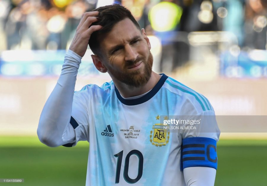 I hope the 2020 Copa America wont be Messi last Scolani 2