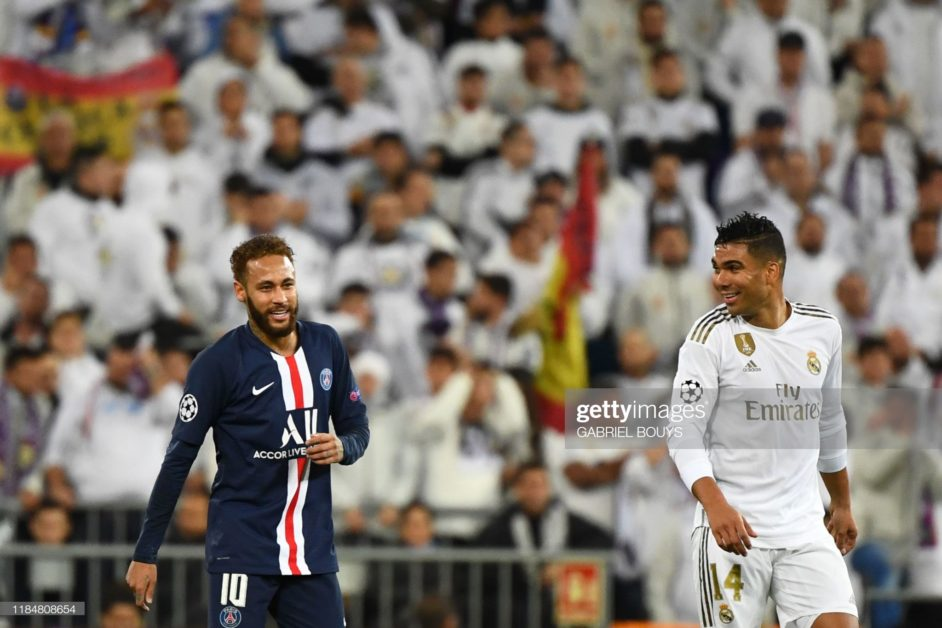 I wished for Neymar to join Real Madrid Casemiro
