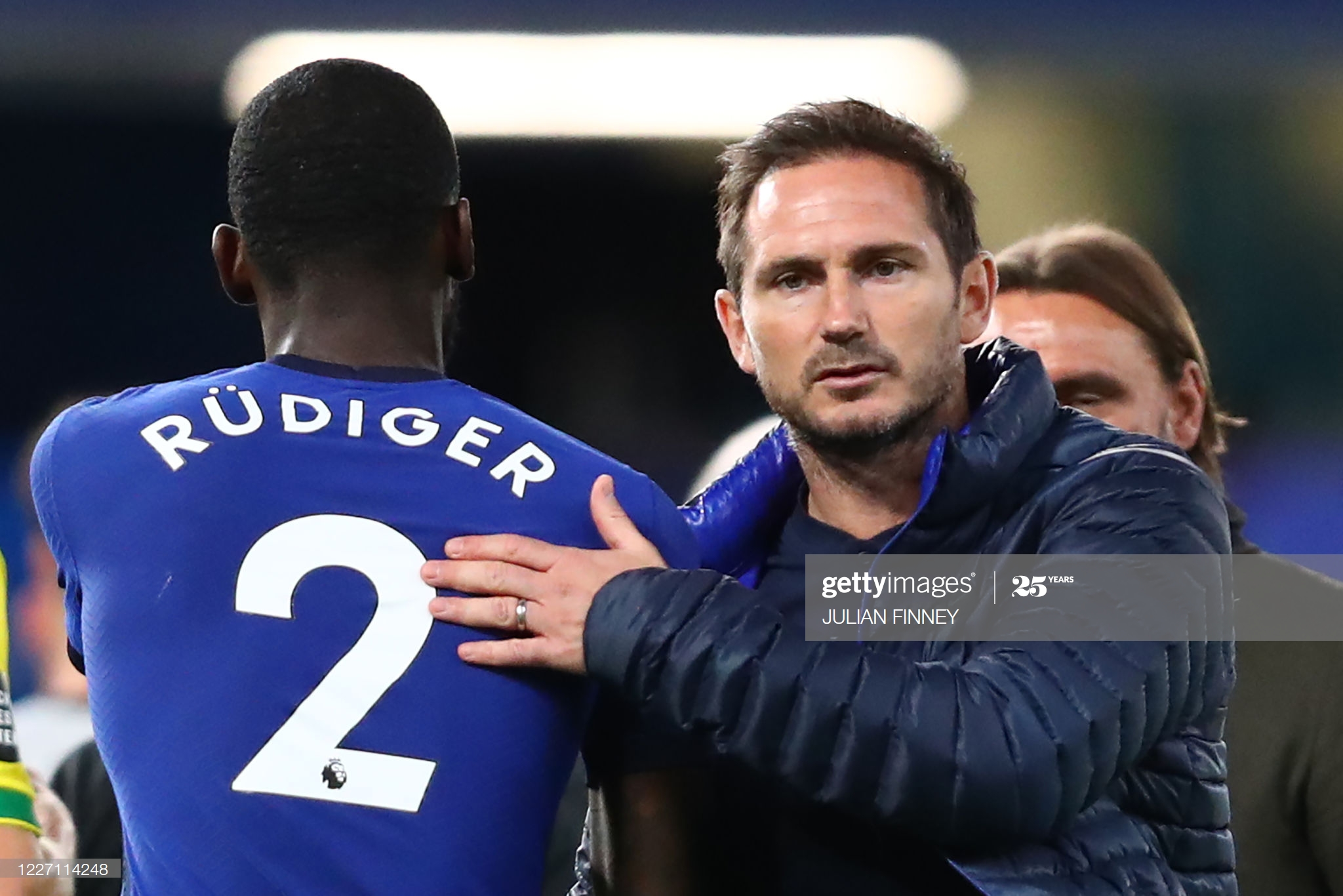 There's a nervy feeling but for understandable reasons - Lampard