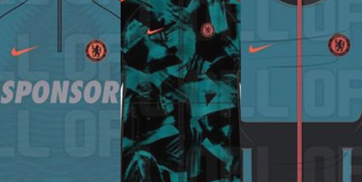 Chelsea 2021/2022 jersey color scheme leaked