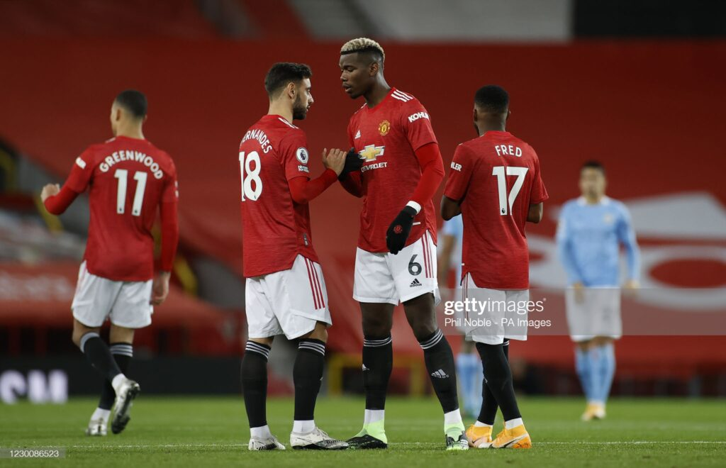 Bruno Fernandes Opens Up On Relationship With Pogba As He Reveals What The Frenchman Told Him When He Arrived United 3