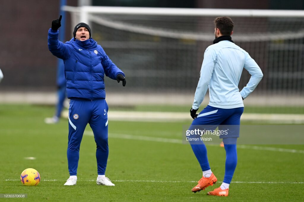 Chelsea press conference Lampard provides Hakim Ziyech and Reece James update ahead of Man City clash 3
