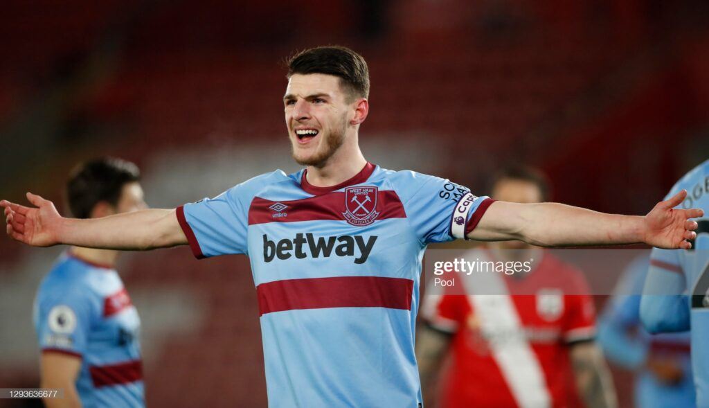 Declan Rice Makes Transfer Decision Amid Interests From Chelsea and Man United 1