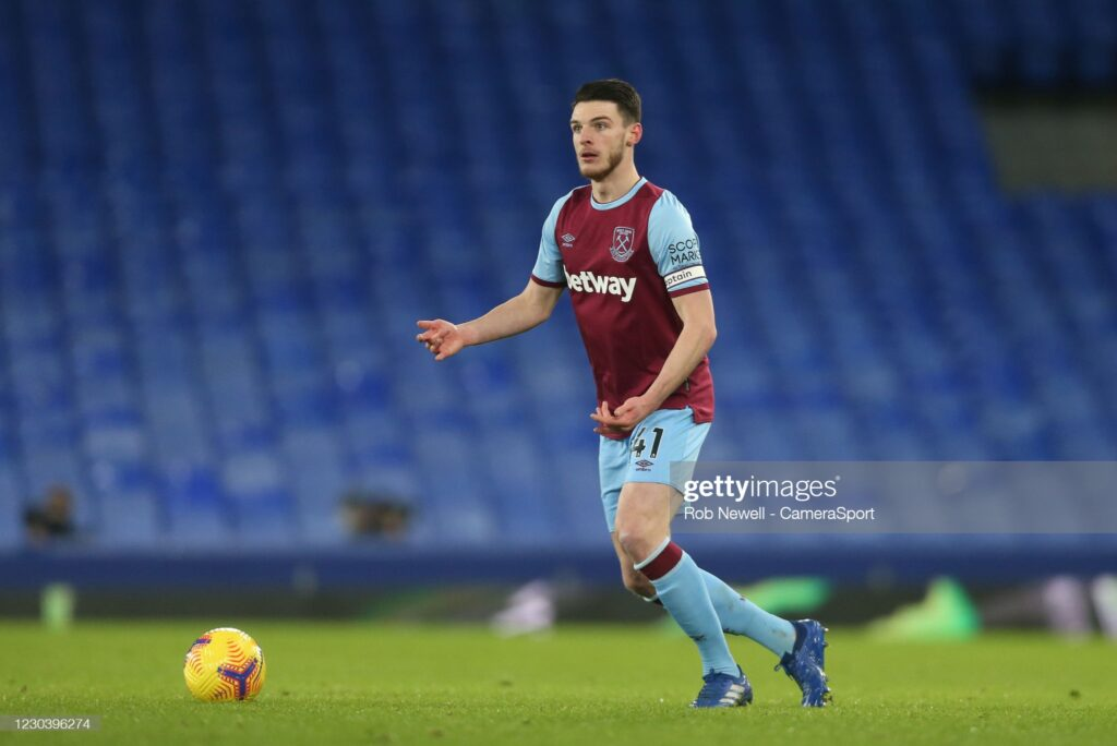Declan Rice Makes Transfer Decision Amid Interests From Chelsea and Man United