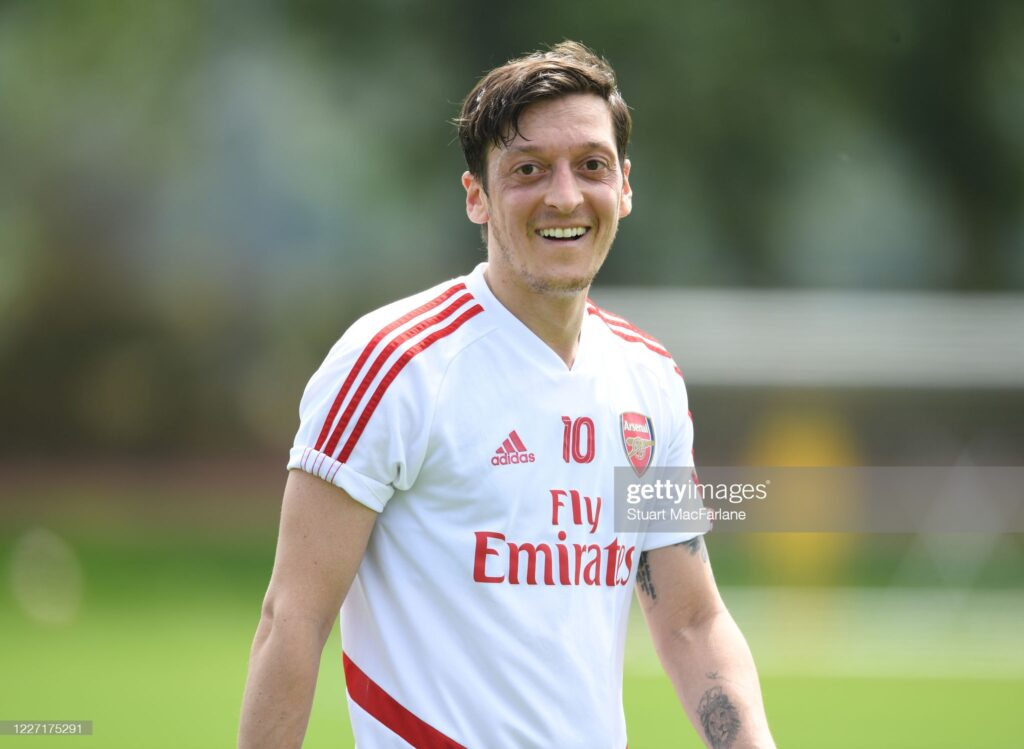 Ozil finally in talks on future after offer tips on his M10 brand 1